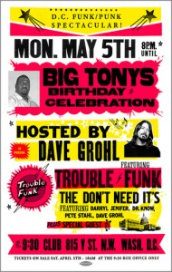 Trouble Funk's Big Tony's Birthday Celebration hosted by Dave Grohl.
