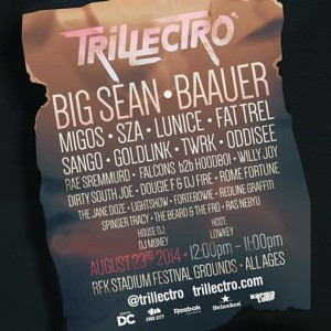 Trillectro @ RFK August 23, 2014